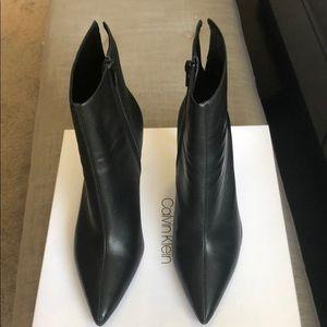 Calvin Klein Nappa Leather Revel Bootie